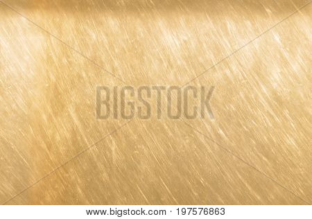 Bronze Or Copper Metal Texture Background. Scratched Light Brown Bronze Texture Seamless