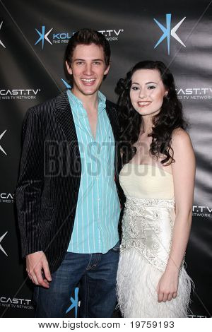 LOS ANGELES - DEC 14:  Michael Christopher Bolten, Jillian Clare attend the