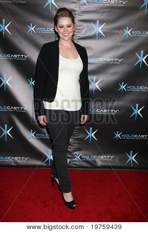 LOS ANGELES - DEC 14:  Jane Carrey attends the