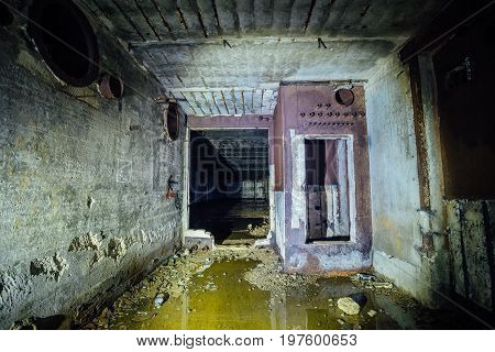 Object 221, abandoned soviet bunker, reserve command post of Black Sea Fleet.