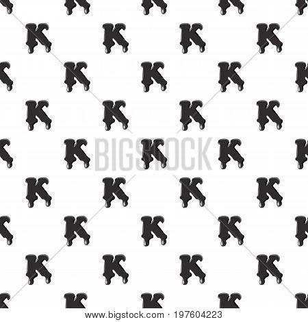 K letter isolated on white background. Black liquid oil K letter vector illustration