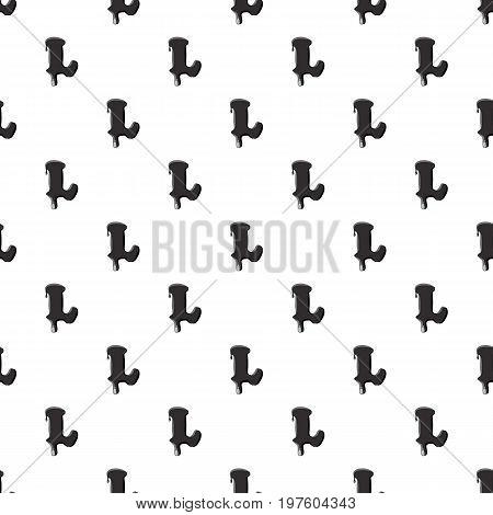 L letter isolated on white background. Black liquid oil L letter vector illustration