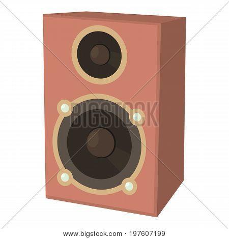Speaker icon. cartoon illustration of speaker vector icon for web