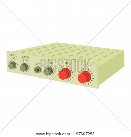 Amplifier icon. cartoon illustration of amplifier vector icon for web