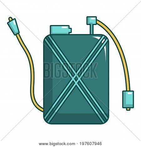 Pulverizer icon. Cartoon illustration of pulverizer vector icon for web design
