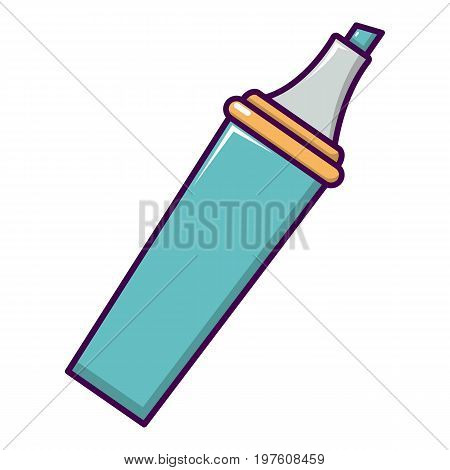 Marker icon. Cartoon illustration of marker vector icon for web design