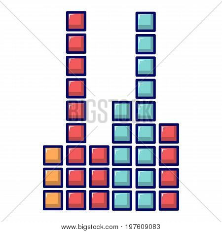 Equalizer icon. Cartoon illustration of equalizer vector icon for web design
