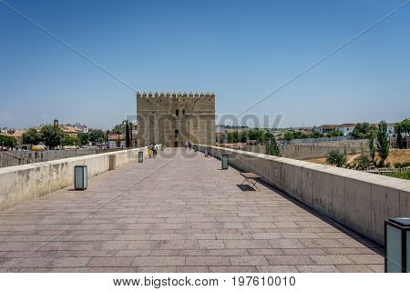 The Calahorra Tower Of Cordoba, Spain, Europe