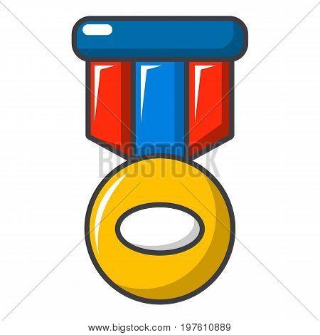 Sport medal icon. Cartoon illustration of sport medal vector icon for web design