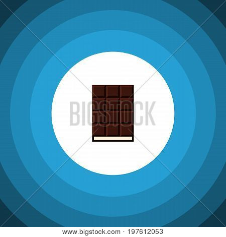 Dessert Vector Element Can Be Used For Wrapper, Dessert, Chocolate Design Concept.  Isolated Wrapper Flat Icon.
