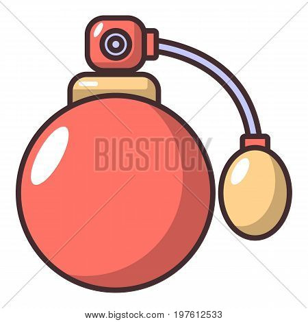 Sprayer bottle icon. Cartoon illustration of sprayer bottle vector icon for web design
