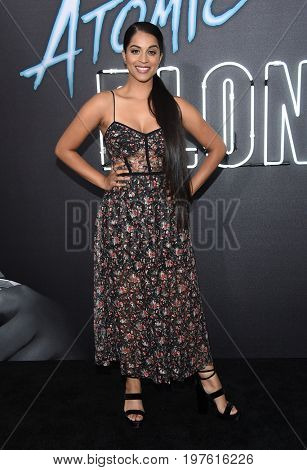 LOS ANGELES - JUL 24:  Lilly Singh arrives for the