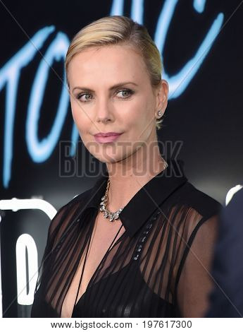 LOS ANGELES - JUL 24:  Charlize Theron arrives for the