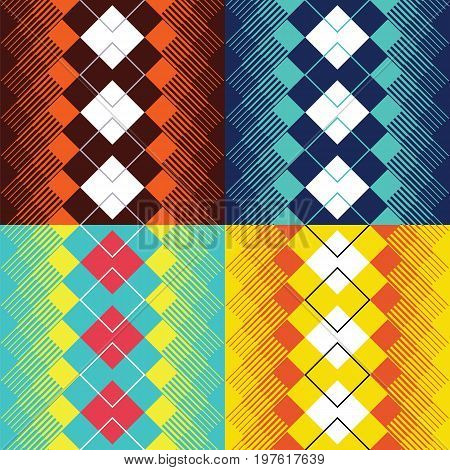 abstract texture seamless diagonal pattern. vector illustration.