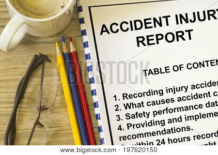 Accident Injury Reporting
