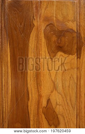Wood Texture Background, Top View Of Wooden Table Varnish
