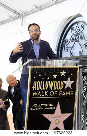 LOS ANGELES - July 26:  Ben Allen at the Jason Bateman Hollywood Walk of Fame Star Ceremony at the Walk of Fame on July 26, 2017 in Hollywood, CA
