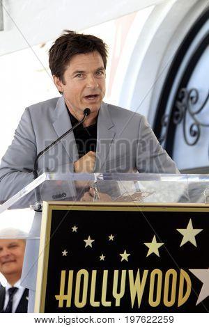 LOS ANGELES - July 26:  Jason Bateman at the Jason Bateman Hollywood Walk of Fame Star Ceremony at the Walk of Fame on July 26, 2017 in Hollywood, CA