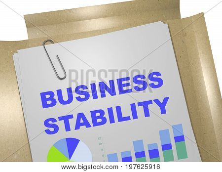 Business Stability Concept