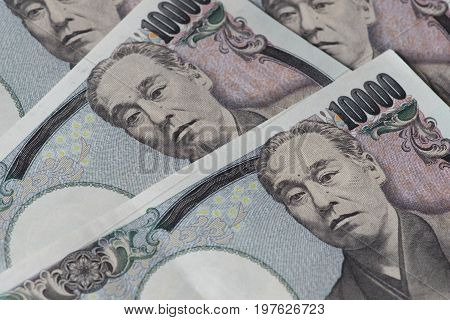 Japanese Yen banknote or Japanese Yen bills for background.