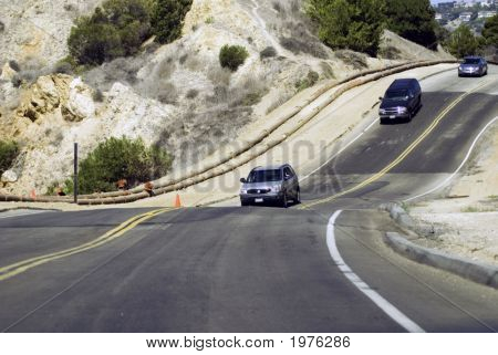 Hilly Bumpy Road