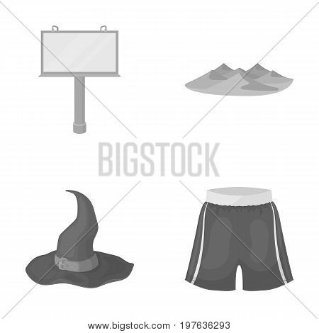 machinery, tourism, business and other  icon in monochrome style.clothing, trade, textiles, icons in set collection