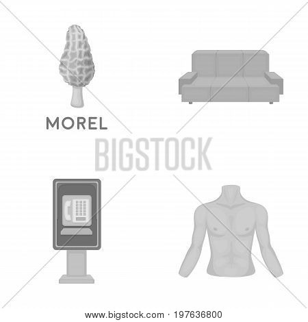 trade, business, medicine and other  icon in monochrome style., male, hands, figure icons in set collection