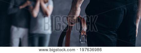 Man With A Belt