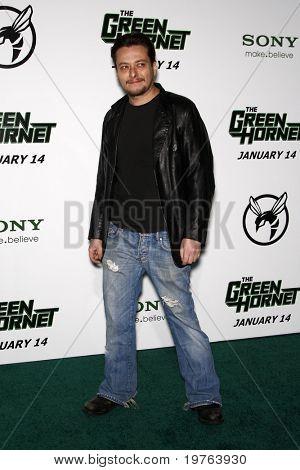 LOS ANGELES - JAN 10:  Eddie Furlong arrives at the