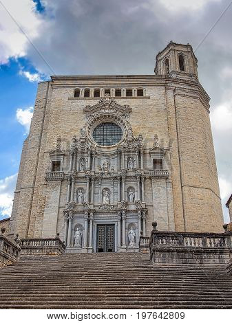 Cathedral of Saint Mary -Catedral de Santa Maria, Girona Spain