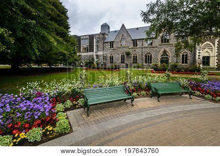 Canterbury Museum And Gardens, Christchurch, New Zealand