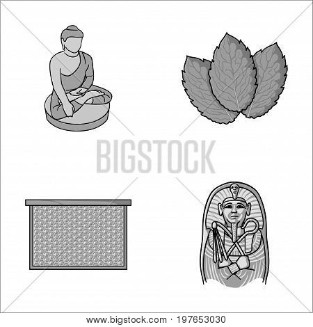 religion, beekeeping and other  icon in cartoon style.cooking, history icons in set collection.