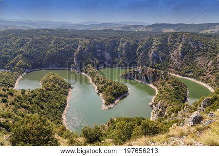 Canyon Of Uvac River