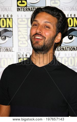 SAN DIEGO - July 22:  Shazad Latif at Comic-Con Saturday 2017 at the Comic-Con International Convention on July 22, 2017 in San Diego, CA