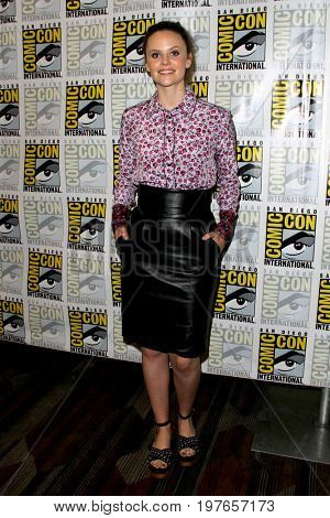 SAN DIEGO - July 22:  Sarah Ramos at Comic-Con Saturday 2017 at the Comic-Con International Convention on July 22, 2017 in San Diego, CA