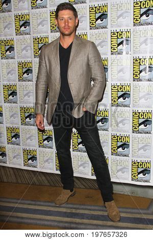 SAN DIEGO - July 23:  Jensen Acklesi at Comic-Con Sunday 2017 at the Comic-Con International Convention on July 23, 2017 in San Diego, CA