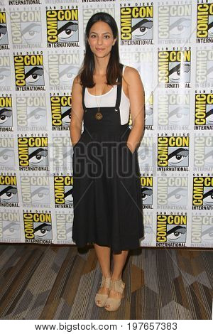 SAN DIEGO - July 22:  Tala Ashe at Comic-Con Saturday 2017 at the Comic-Con International Convention on July 22, 2017 in San Diego, CA