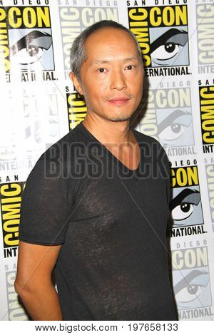 SAN DIEGO - July 21:  Ken Leung at Comic-Con Friday 2017 at the Comic-Con International Convention on July 21, 2017 in San Diego, CA