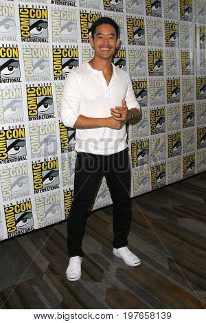 SAN DIEGO - July 21:  Mike Moh at Comic-Con Friday 2017 at the Comic-Con International Convention on July 21, 2017 in San Diego, CA