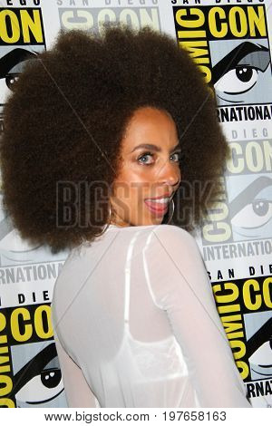 SAN DIEGO - July 22:  Hayley Law at Comic-Con Saturday 2017 at the Comic-Con International Convention on July 22, 2017 in San Diego, CA