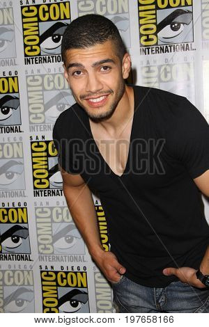 SAN DIEGO - July 22:  Rick Gonzalez at Comic-Con Saturday 2017 at the Comic-Con International Convention on July 22, 2017 in San Diego, CA