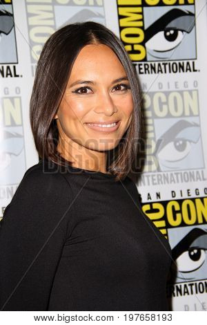 SAN DIEGO - July 21:  Sonya Balmores at Comic-Con Friday 2017 at the Comic-Con International Convention on July 21, 2017 in San Diego, CA