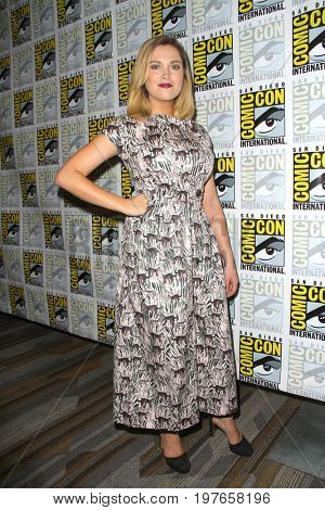 SAN DIEGO - July 21:  Eliza Taylor at Comic-Con Friday 2017 at the Comic-Con International Convention on July 21, 2017 in San Diego, CA