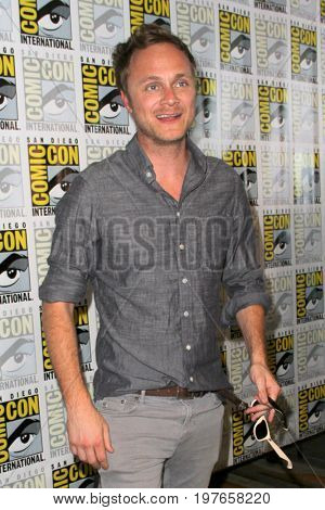 SAN DIEGO - July 21:  David Anders at Comic-Con Friday 2017 at the Comic-Con International Convention on July 21, 2017 in San Diego, CA