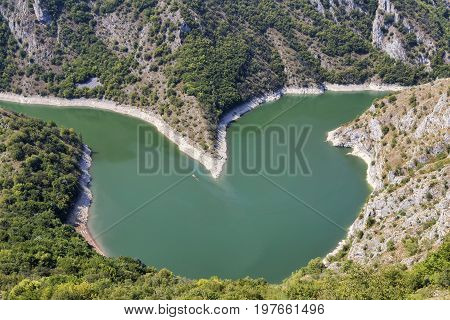 Heart Shaped River Bend