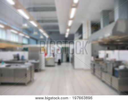abstract blurred: laboratory study of food products light background