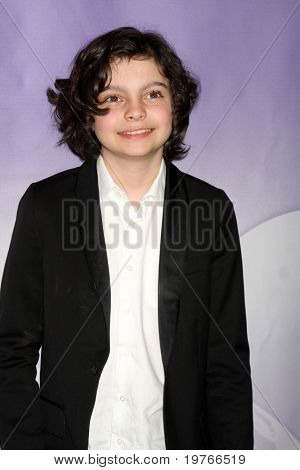 PASADENA, CA - JAN 13:  Max Burkholder arrives at the NBC TCA Winter 2011 Party at Langham Huntington Hotel on January 13, 2010 in Pasadena, CA