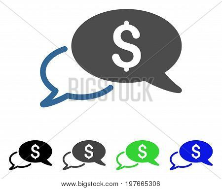 Wire Transfer flat vector pictogram. Colored wire transfer gray, black, blue, green pictogram variants. Flat icon style for graphic design.
