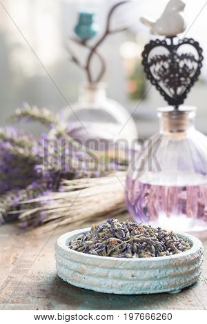 Nature Cosmetics, Handmade Preparation Of Essential Oils, Parfums, Creams, Soaps From Fresh And Drie
