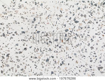 terrazzo flooring old texture or polished stone background with copy space add text